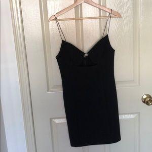 Topshop Cutout Bodycon Dress